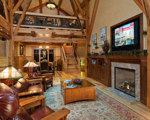 Timber Frame Living Room Home Design Ideas Pictures