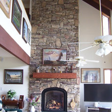 Eclectic Living Room by COASTROAD Hearth & Patio