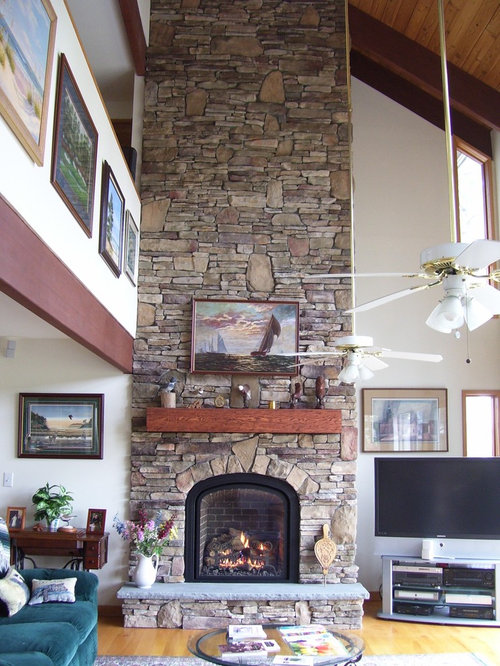 Buck County Southern Ledgestone Home Design Ideas