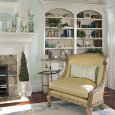 Traditional Living Room by Decorating Den Interiors