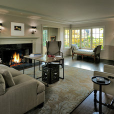 Traditional Living Room by Thomas Jacobson Construction, Inc