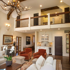 Traditional Living Room by Westwood Cabinetry and Millwork