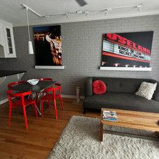 Modern Living Room by Chris Wilhite Design