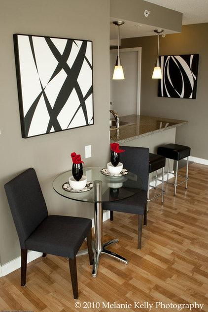 Modern Living Room by Heather Kleim
