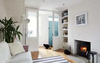 玄関ホールがない家に、エントランス空間を生みだす方法