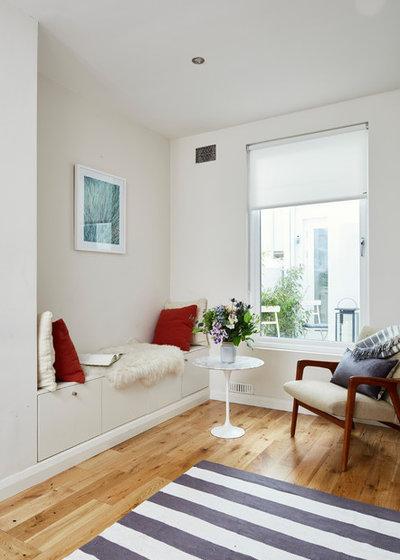 Skandinavisch Wohnbereich by houseology