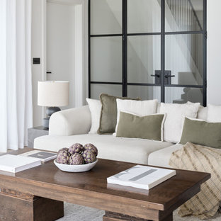 Design ideas for a modern living room in Other.