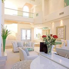 Modern Living Room by Richard Luke Architects P.C.