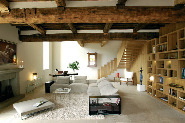 Country Soggiorno by Alhadeff Architects