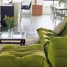 Modern Living Room togo- apartment therapy-prefab seattle