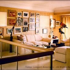 Contemporary Living Room by Tomar Lampert Associates