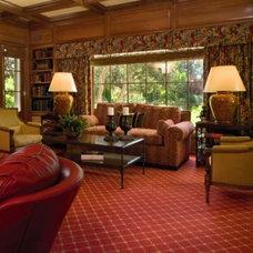 Traditional Living Room by Tomar Lampert Associates