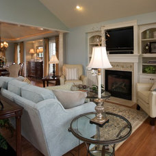 Traditional Living Room by Interior Design Source