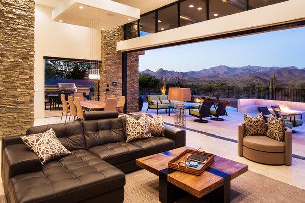 Contemporary Living Room by Rains Design