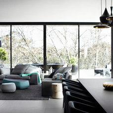 Contemporary Living Room by Christopher Elliott Design