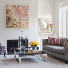 Contemporary Living Room by Andrew Frost Interiors