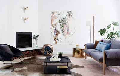 Houzz Tour: A Stylish Melbourne Home Makes Do