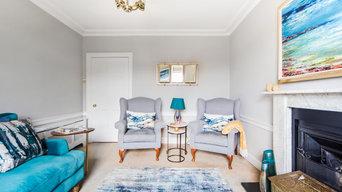 Stockbridge Top Floor Apartment - Living room