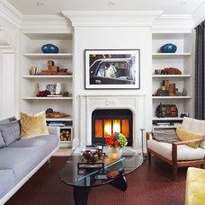 Contemporary Living Room by Douglas Design Studio