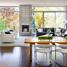 Modern Living Room by Brandon Barré Architectural Interior Photographer