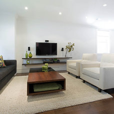 Modern Living Room by Affecting Spaces