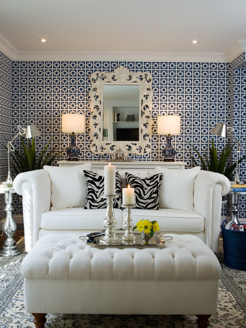 Inspiration For A Contemporary Formal And Enclosed Living Room Remodel In  Toronto Part 89