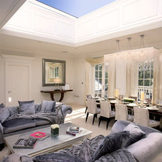 Traditional Living Room by House Couturier Limited
