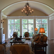 Traditional Living Room by Donna F. Boxx, Architect, P.C.