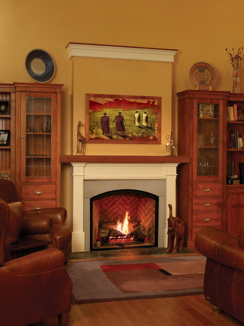 town country fireplaces