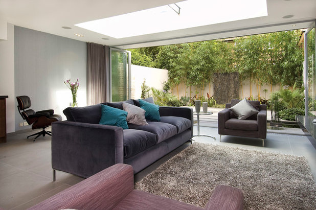Contemporary Living Room by Saunders Interiors Ltd