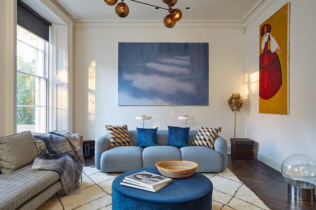 Contemporary Living Room by Play Associates