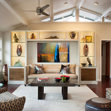 Contemporary Living Room by Allard & Roberts Interior Design, Inc