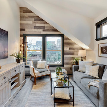 Townhome style ADU over garage