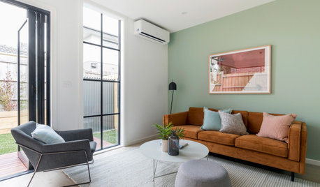 A Pint-Size Prefab Townhouse Brimming With Character