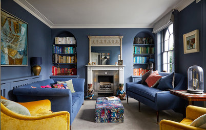 Houzz Tour: Old Meets New in a Refreshed Georgian Townhouse