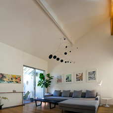 Contemporary Living Room by Jon+Aud Design