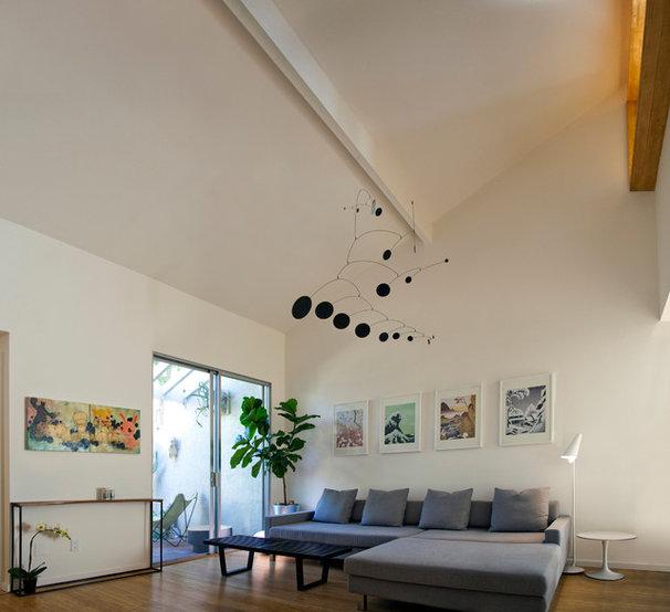 Contemporary Living Room by Jon+Aud Design
