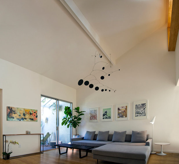 Houzz Tour A San Diego Townhouse Gets A Bright Update