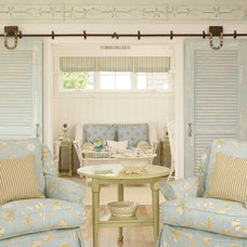 Beach Style Living Room by Tracey Rapisardi Design
