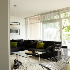Midcentury Living Room by Sharyn Cairns