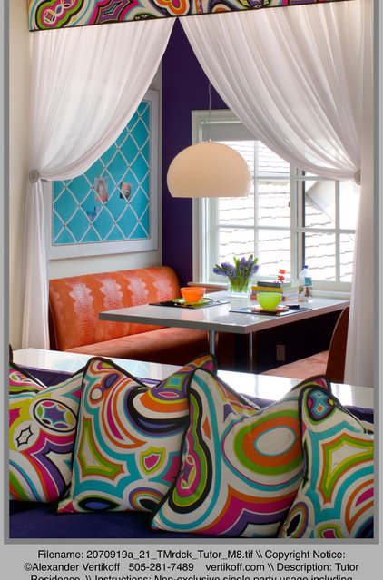 Eclectic Living Room by Tracy Murdock Allied ASID