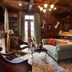 Houston Urban Chic Traditional Living Room Houston