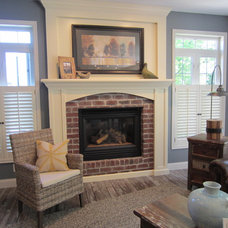 Traditional Living Room by The Design Element