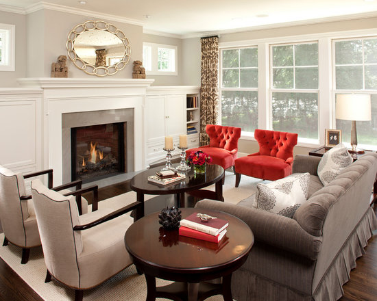 Living Room Yellow And Red gray yellow red | houzz