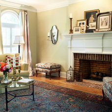 Traditional Living Room by The Green Room Interiors