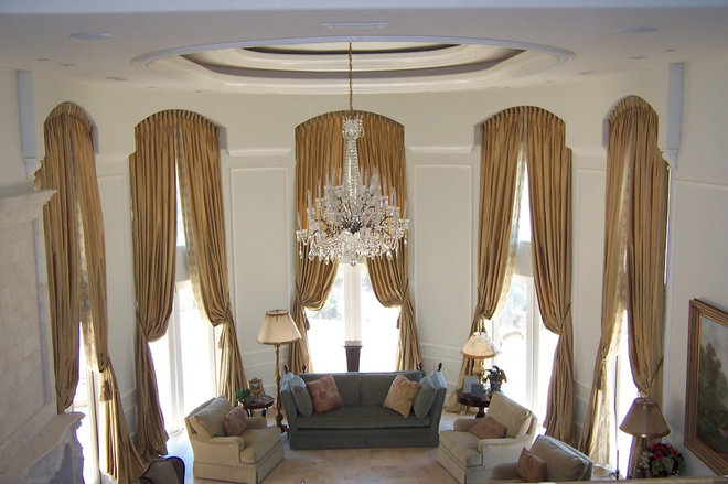 Traditional Window Treatments by Draperies By Walter