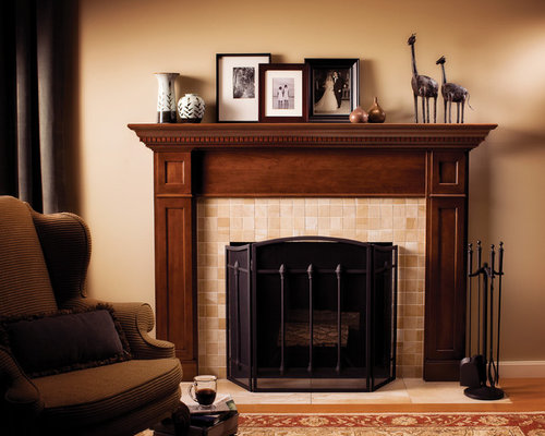 Mantel display ideas pictures remodel and decor for Mantel display ideas