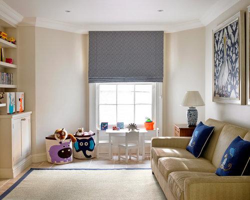 kids living room. Traditional open concept living room idea in London Play Area Kids Living Room Ideas  Photos Houzz