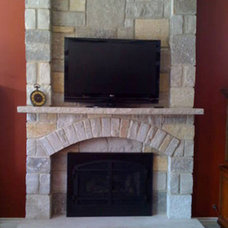Traditional Fireplaces by Northwest Metalcraft