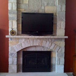 Traditional Fireplace -
